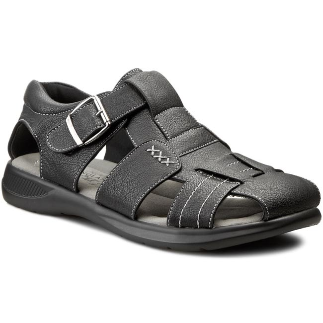 c770f9ce2e01 Sandals GINO LANETTI - MSSL01 Black - Sandals - Mules and sandals ...