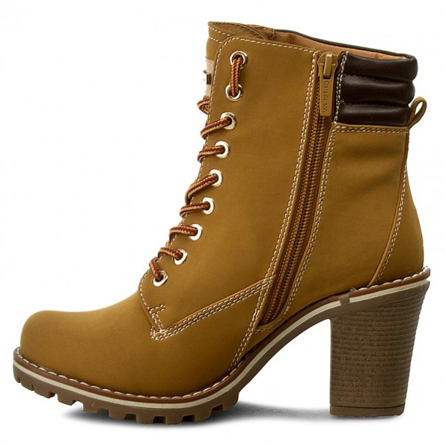 b6ab2cc3692b Boots CLARA BARSON - WS959-5 Miodowy - Boots - High boots and others -  Women s shoes - www.efootwear.eu