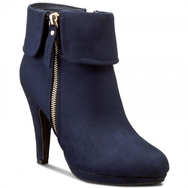 WS265 Boots Boots Navy FAIRY and 1 Blue boots JENNY High EScETwqUW