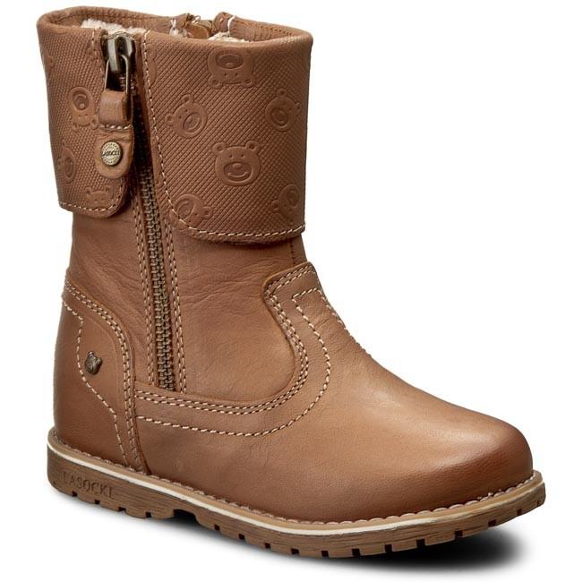 f660e1415a3 Knee High Boots LASOCKI KIDS - CI12-RIO-10 Beżowy Złoty - Jackboots ...
