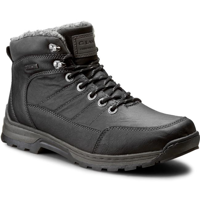Hiking Boots GINO LANETTI - MP07-2930-02 Black