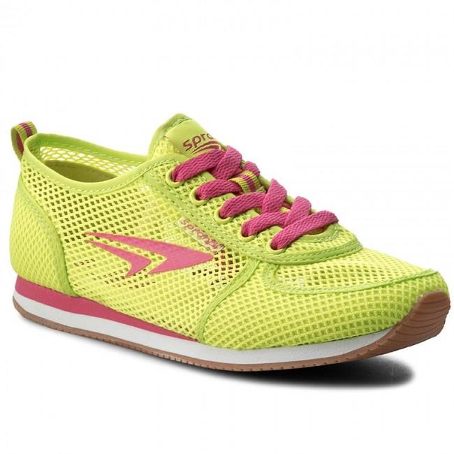 Zapatos De - Wp07-15771-01 Jaune / Rose Ar0CDE