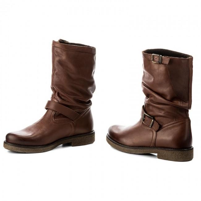 Jackboots High High LASOCKI Boots boots RIKA Brown 01 and Knee xZqY0wdq