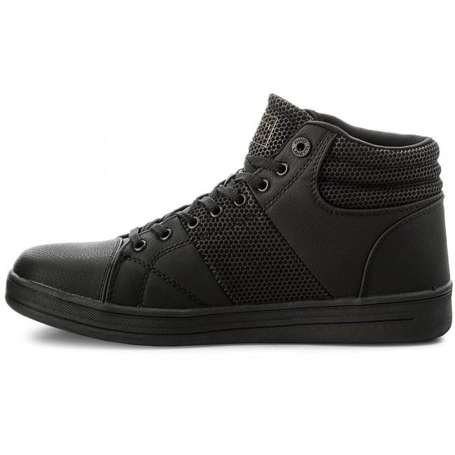 01 Mp07 Shoes Low 17013 Sneakers Gino Black Lanetti AxgZI