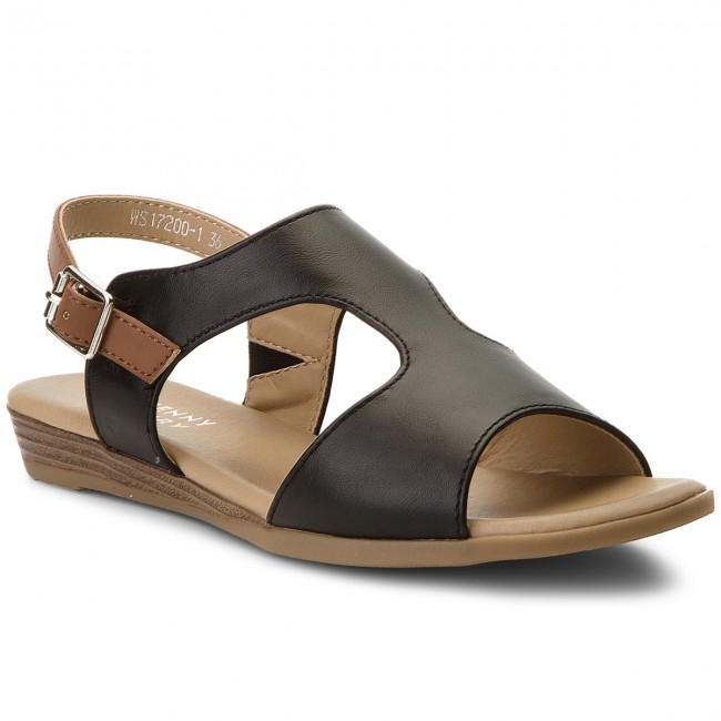 972715a9a68 Sandals JENNY FAIRY - WS17200-1 Black - Casual sandals - Sandals ...