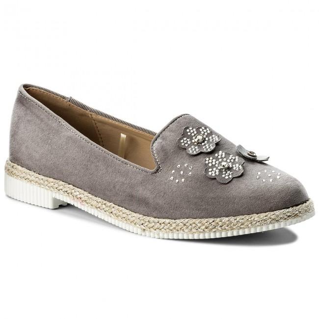 62bfb579d Espadrilles JENNY FAIRY - TS4212-02 Grey - Espadrilles - Low shoes ...
