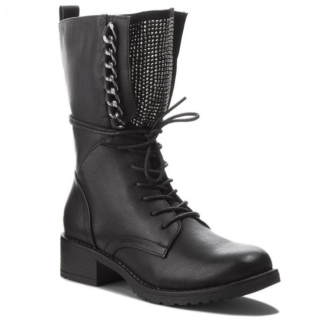 eef115c371956 Boots JENNY FAIRY - WS16357-13 Black - Boots - High boots and others ...