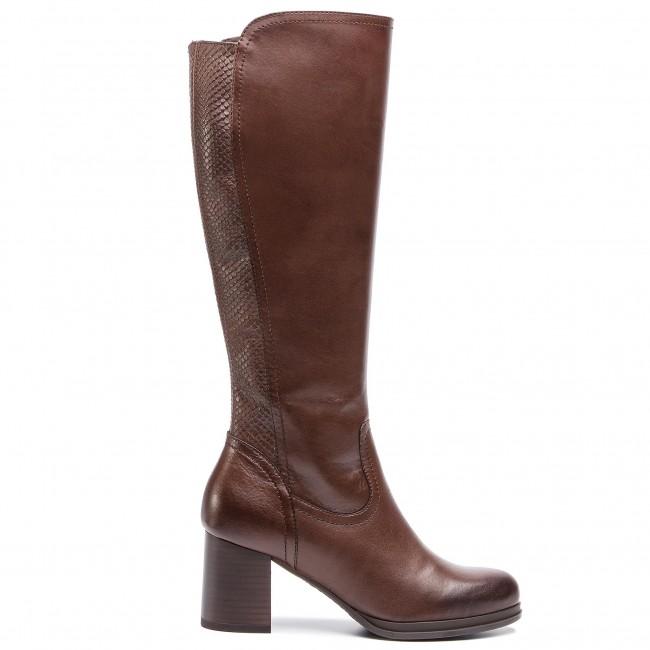03 boots Jackboots SEWERA2 High Boots LASOCKI Knee Brown High x8gAICqCw