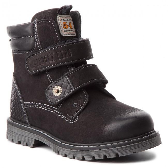 91285fe975b Knee High Boots LASOCKI KIDS - CI12-BROKER-01A Black - Jackboots ...