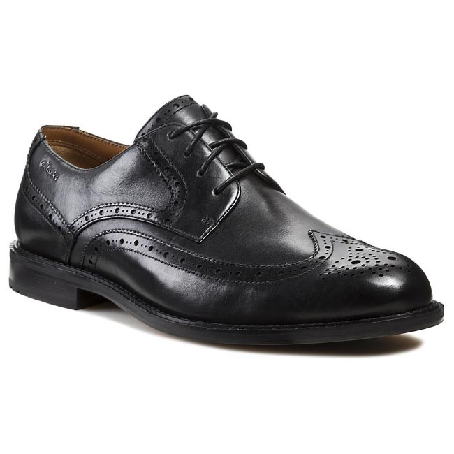 Formal Shoes CLARKS - Dorset Limit 203550028 Black Leather
