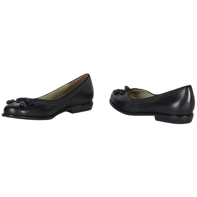 02373f94f Flats CLARKS - Bere Bombay 20339722 Black - Ballerina shoes - Low ...