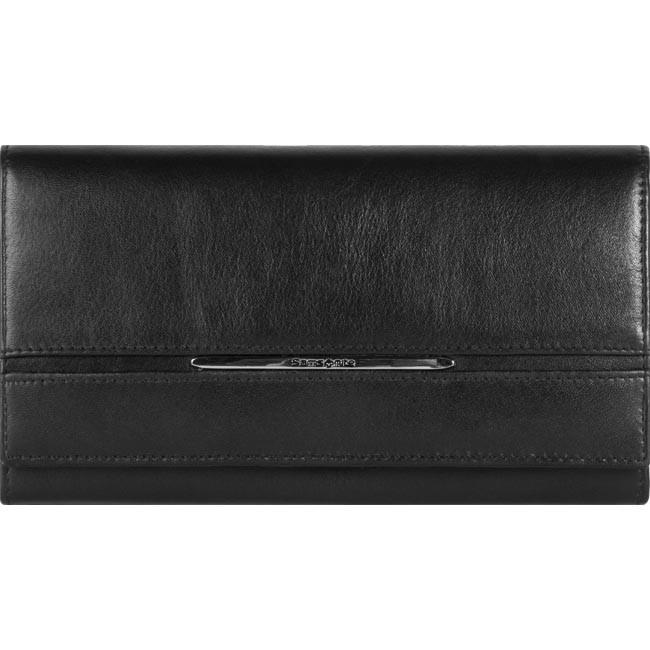 c13403d2109d8 Large Women s Wallet SAMSONITE - 141-270 Black - Women s wallets ...