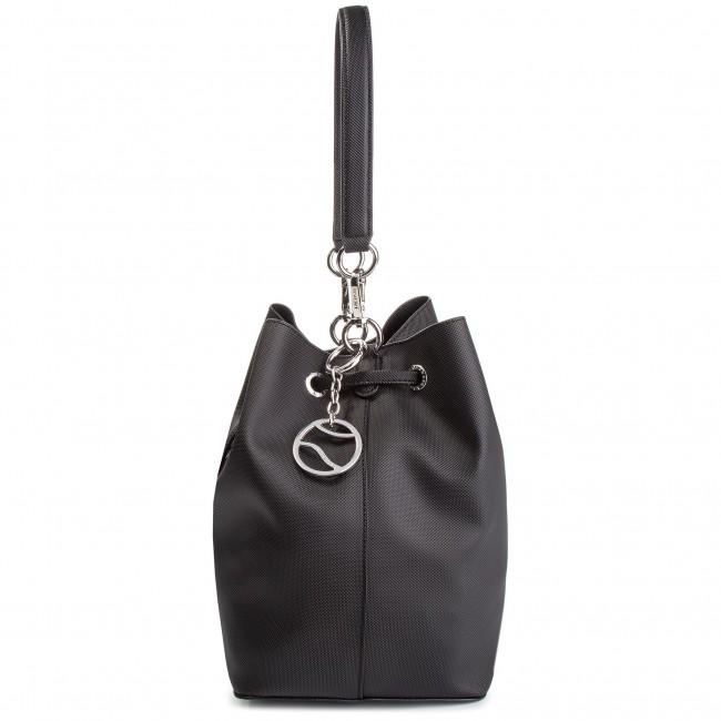 Handbag LACOSTE - Bucket Bag NF2535DC Black 000 - Bags - Handbags ... f453ebdac5a