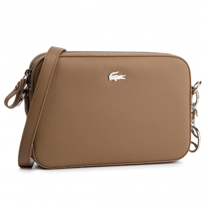 Handbag LACOSTE - Square Crossover Bag NF2532DC Otter B48 - Cross ... 80748894789