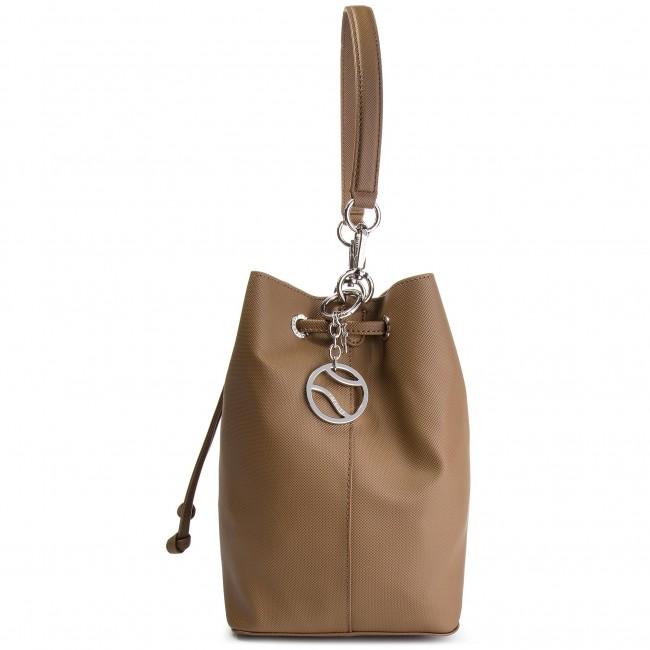 Handbag LACOSTE - Bucket Bag NF2535DC Otter B48 - Bags - Handbags ... bc29ae43997