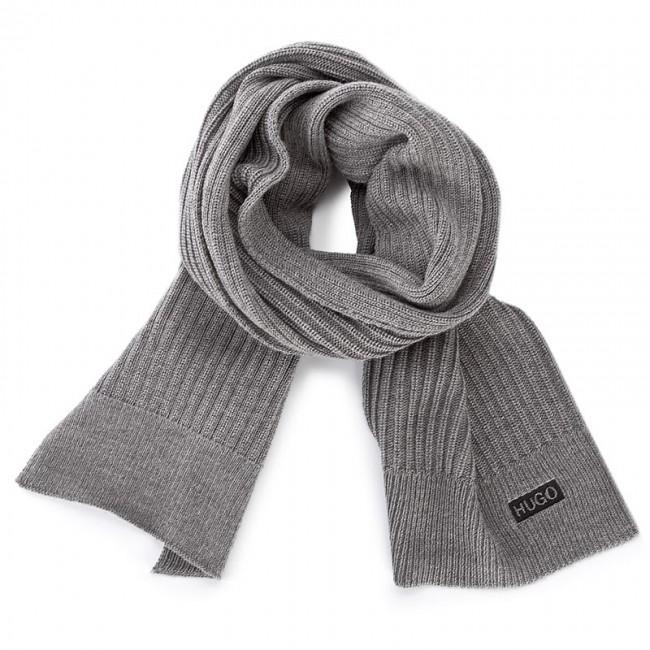 Scarf BOSS - Zappon 50375240 Open Grey 08 - Scarves - Fabrics ... 97b88c1307127