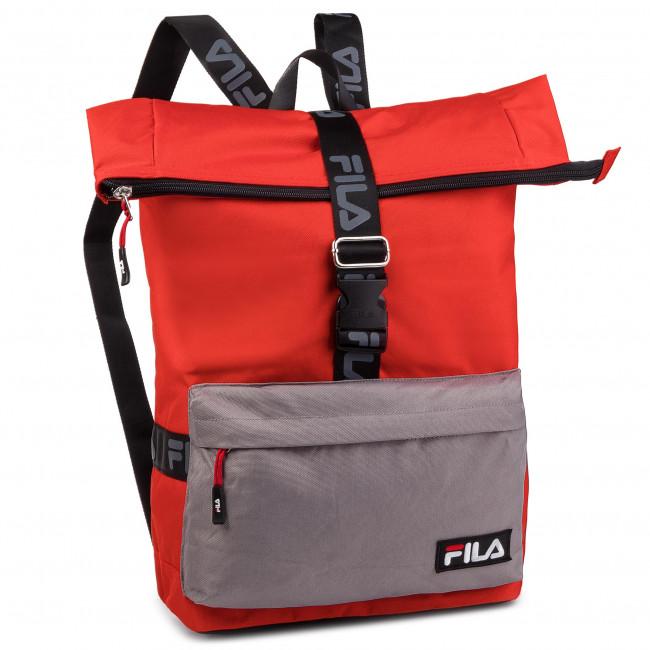 7cbbcb16cbf00 Backpack FILA - Rolltop Backpack Örebro 685045 Fiery Red-Black Z15 ...