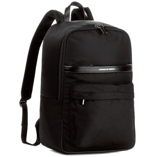 8370ec5d3d Backpack PORSCHE DESIGN - Lane 4090002576 Black 900 - Travel ...