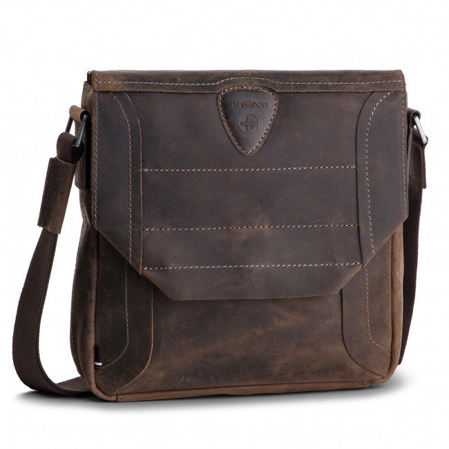 892813d3f8d85 Messenger Bag STRELLSON - Hunter 4010002562 Dark Brown 702 - Men s ...