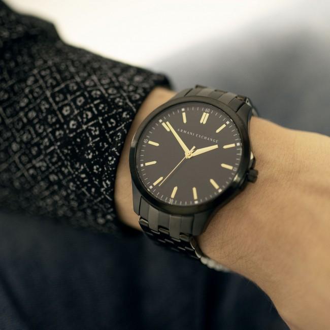 ef2b263f0e34 Wristwatch ARMANI EXCHANGE - Hampton AX2144 Grey Black - Men s ...