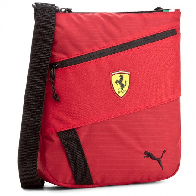 318d535e18 Messenger Bag PUMA - Ferrari Fanwear Portable 074777 Rosso Corsa ...
