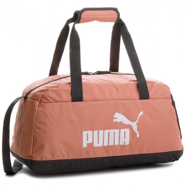 20fb3b1e66 Bag PUMA - Phase Sport Bag 074942 Peach Beige 28 - Sports bags and ...