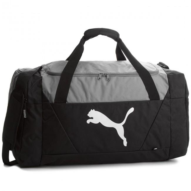 Bag PUMA - Fundamentals Sports Bag M 075097 01 Puma Black - Sports ... 19a24adc09920