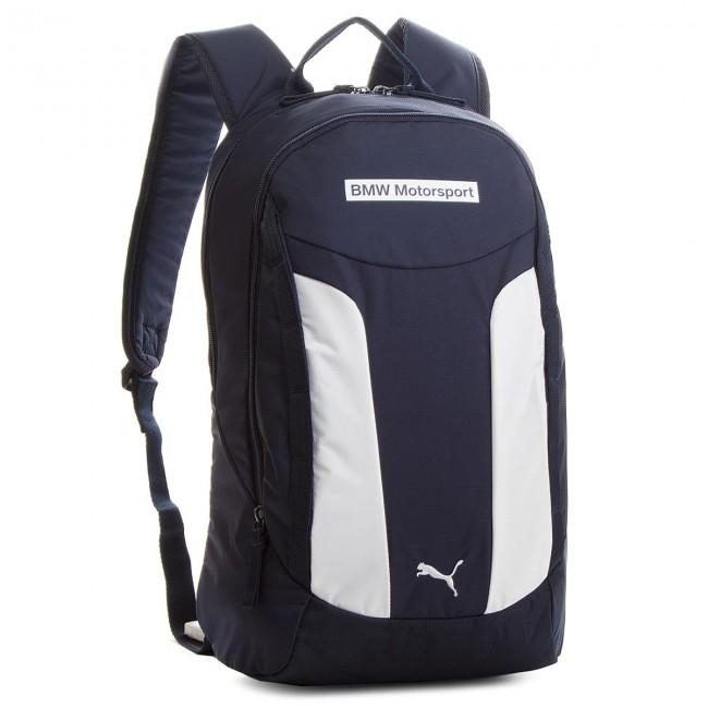 13707849cc4a Backpack PUMA - BMW Motorsport Backpack 075131 01 Team Blue Puma White