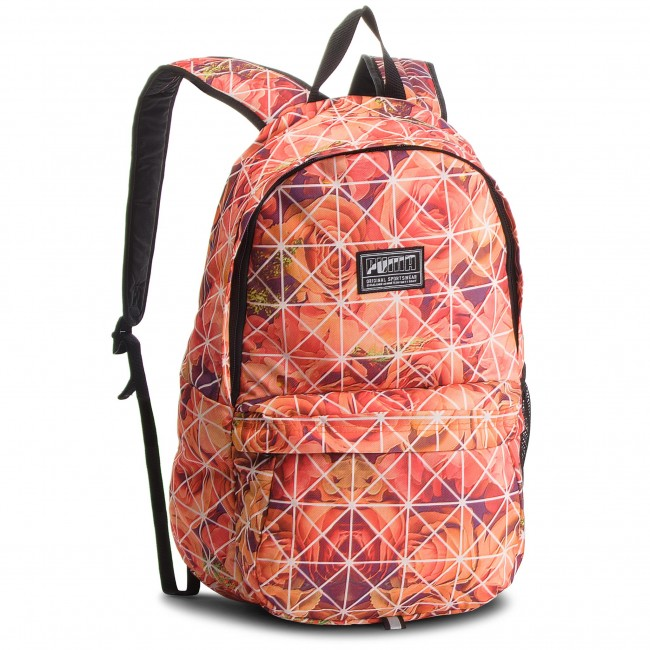 2559e5067d2c Backpack PUMA - Academy Backpack 074719 22 Dusty Coral Roses Aop ...