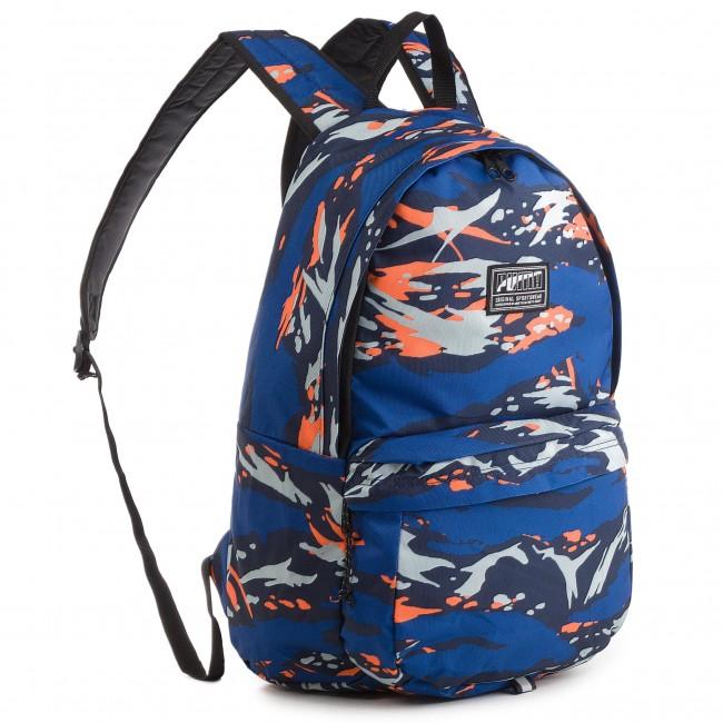 c79172bb5c90 Backpack PUMA - Academy Backpack 074719 24 Peacoat Camo - Notebook ...
