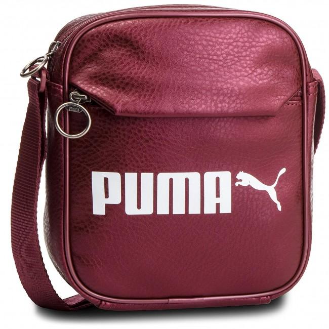 4abd3a4e41 Messenger Bag PUMA - Campus Portable 075004 05 Pomegranate Metallic ...