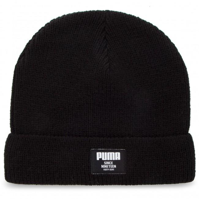 Cap PUMA - Ribbed Classic Beanie 021709 01 Puma Black - Women s ... dffd64236e6c
