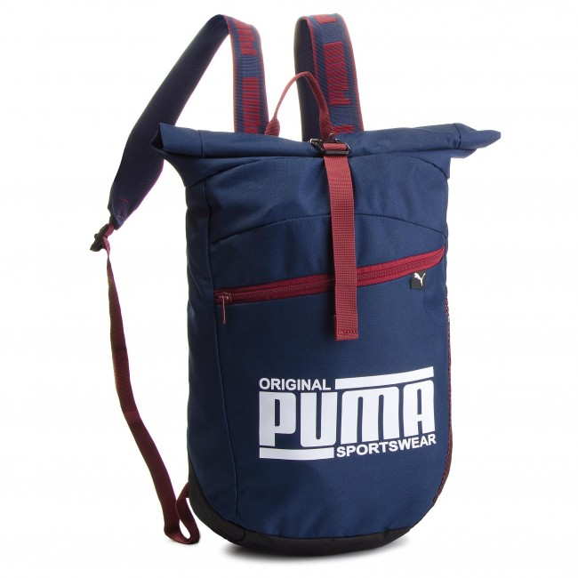 Backpack PUMA - Sole Backpack 075435 02 Peacoat - Sports bags and ... e36ad57dffa