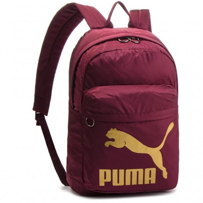 fca21de522 Backpack PUMA - Originals Backpack 074799 11 Fig Gold - Sports bags ...