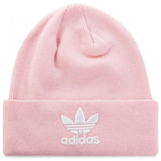 0f87e2034a8 Cap adidas - Trefoil Beanie DH4299 Clpink - Women s - Hats - Fabrics ...