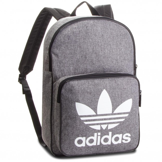 92b1316e905f Backpack adidas - Bp Class Casual D98923 Black White - Sports bags ...