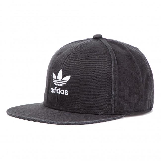 b15710997e0 Cap adidas - Ac Cap Tre Flat DV0236 Black White - Women s - Hats ...