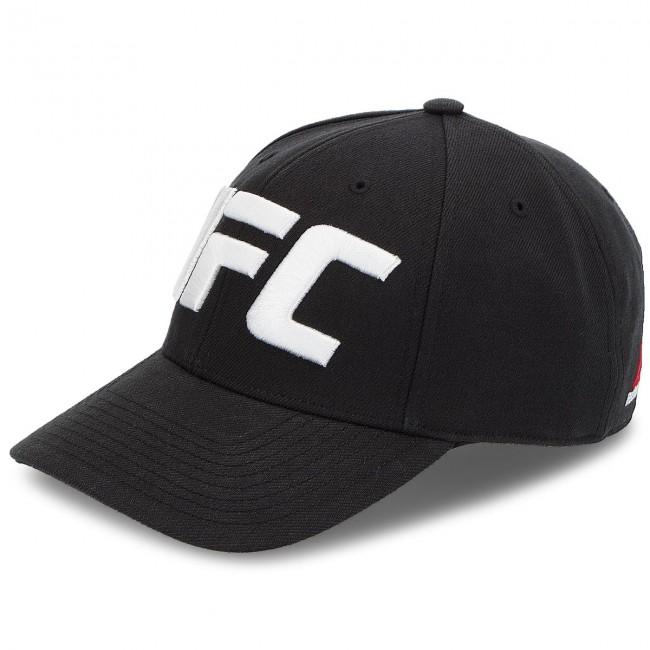 a14cf669e41 Cap Reebok - Ufc Baseball Cap CZ9909 Black - Men s - Hats - Fabrics ...