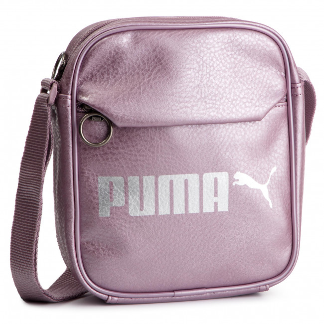 12ce4037254 Messenger Bag PUMA - Campus Portable 075004 07 Elderberry/Puma ...