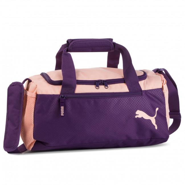 4133f9c3291 Bag PUMA - Fundamentals Sports Bag Xs 075526 07 Indigo/Peach Bud ...