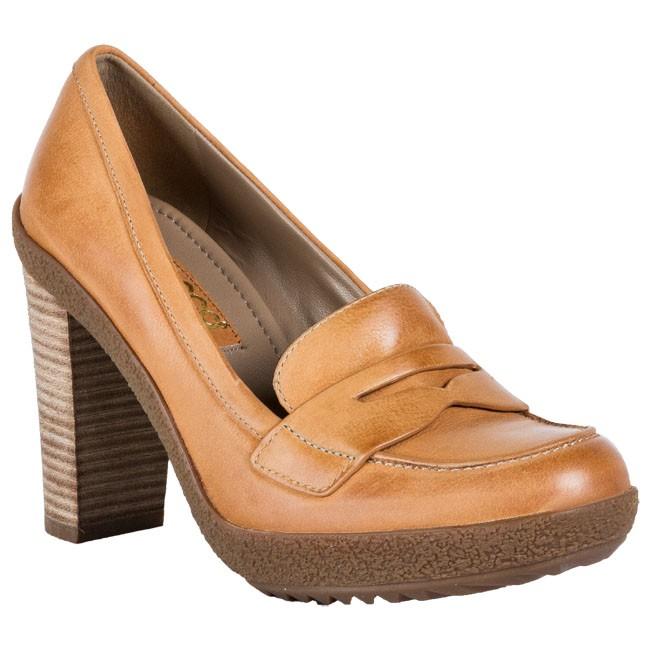 d5e4484fab1a Shoes ECCO - Ecco Nomane 80MM 35576302112 Brown - Heels - Low shoes ...