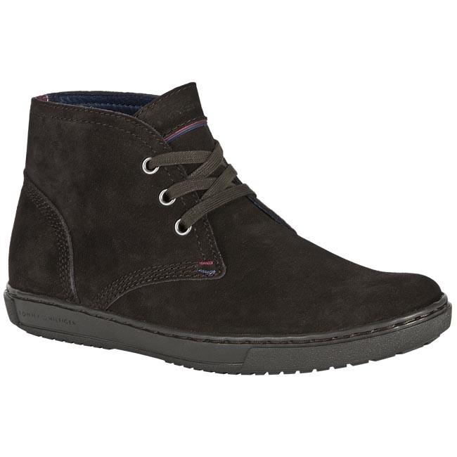 d1679eab3142 Boots TOMMY HILFIGER - FM56814777 Coffee Bean 212 - Casual - High ...