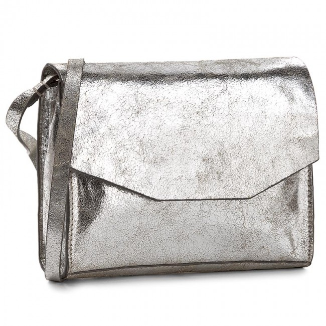 Handbag CLARKS - Treen Island Silver Leather - Cross Body Bags ... cf1270a95ff41