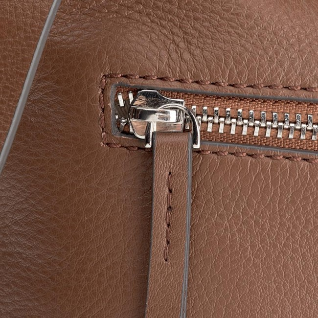 Handbag CLARKS - Topsham Jewel Tan Leather - Cross Body Bags ... af57062dfd9b2