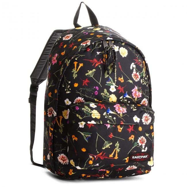 90e822704ecc5 Backpack EASTPAK - Out Of Office EK767 Black Plucked 74R - Notebook ...