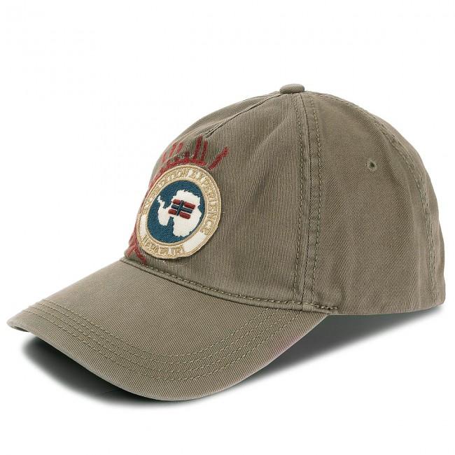 Cap NAPAPIJRI - Fiarra 1 N0YHNC Khaki GC3 - Men s - Hats - Fabrics ... 9685c36ed49