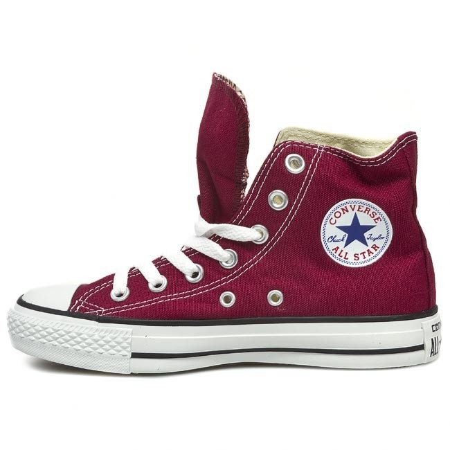 converse all star bordo