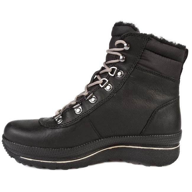 f47dcee79d659b Hiking Boots ECCO - Hill Low cut Lace 24306351052 Black - Trekker boots -  High boots and others - Women s shoes - www.efootwear.eu