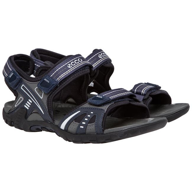 7a36def242a04 Sandals ECCO - Hyper Terrain III M 85400457794 Marine Dark Shadow - Sandals  - Mules and sandals - Men s shoes - www.efootwear.eu