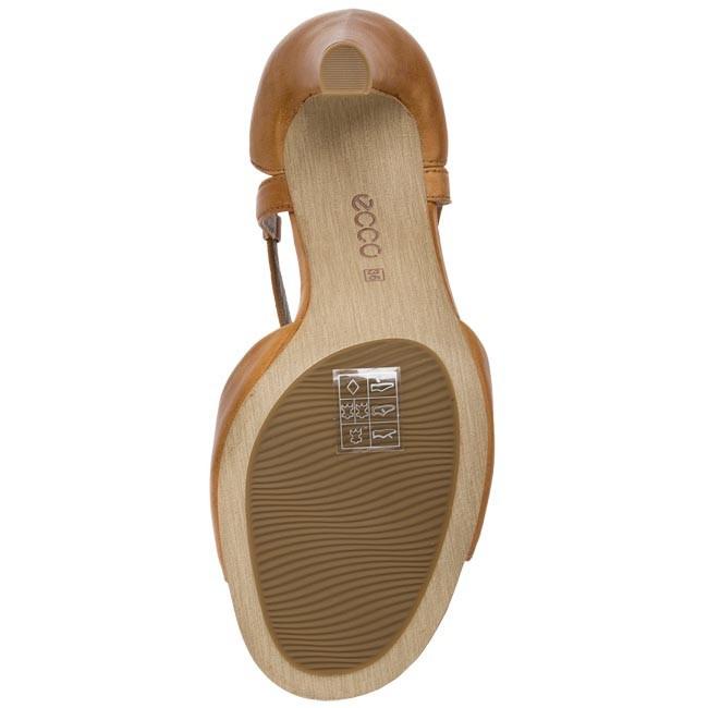 8bcd0b721312 Sandals ECCO - Owen 35675301021 Lion - Elegant sandals - Sandals - Mules  and sandals - Women s shoes - www.efootwear.eu